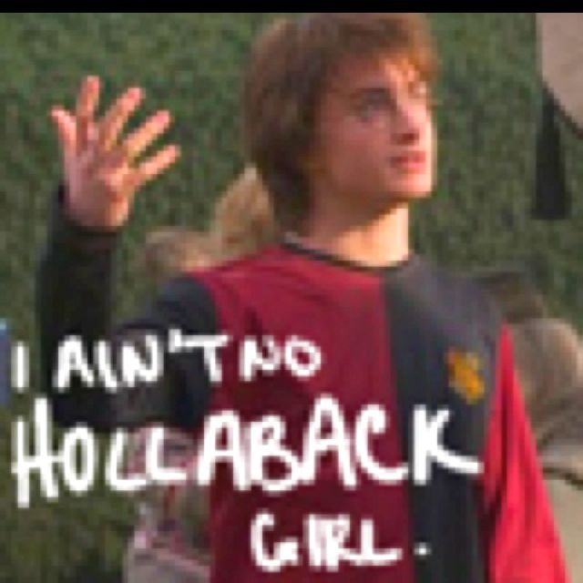 He aint no hollaback girl harry potter 3 pinterest he aint no hollaback girl sciox Images
