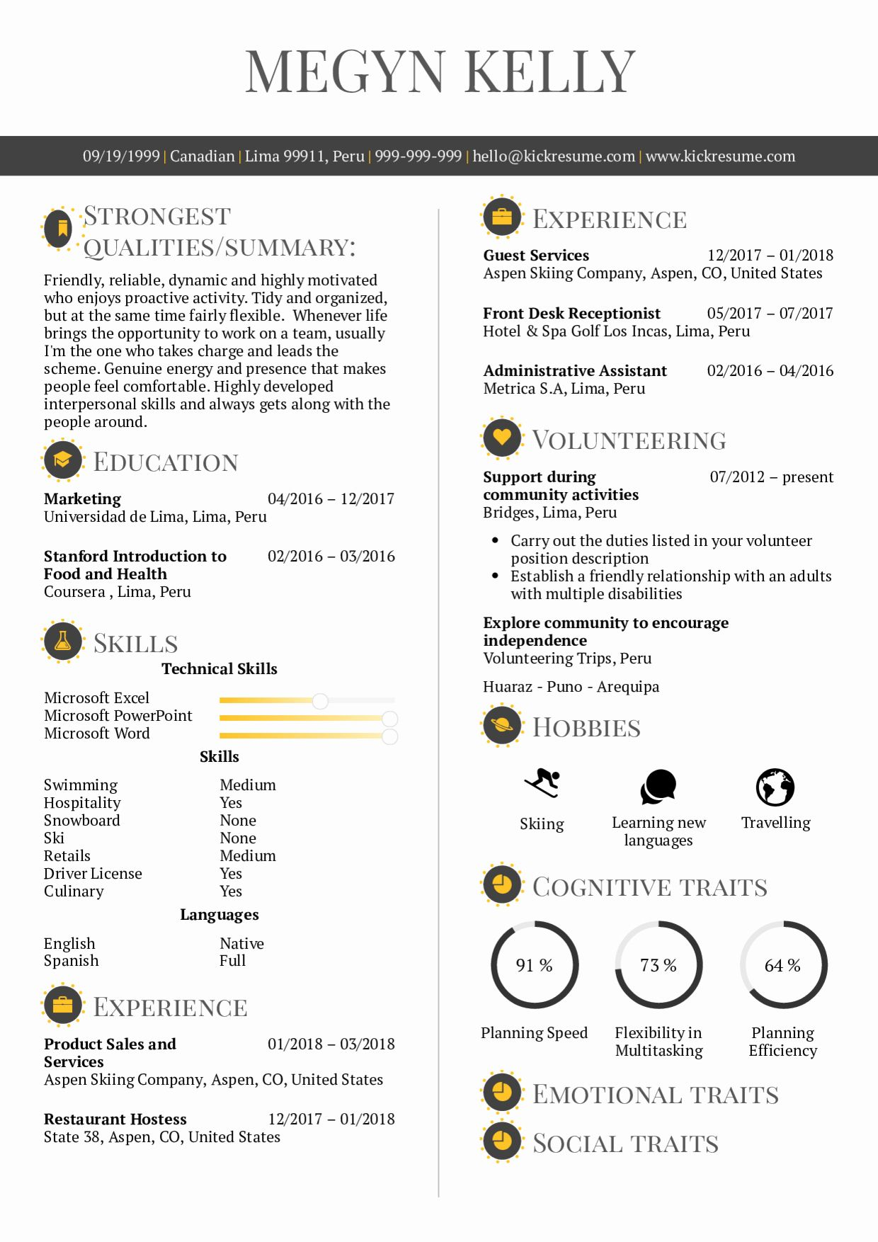 20 Front Desk Receptionist Resume Good resume examples