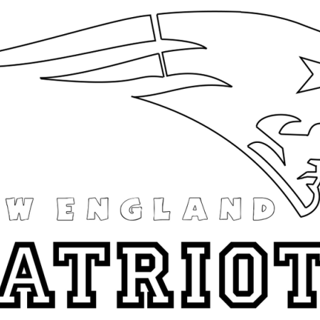 New England Patriots From Nfl Coloring Pages Sports Coloring Pages Football Coloring Pages New England Patriots