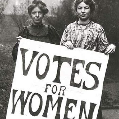 Women's Suffrage Movement. We have rights because of those who ...
