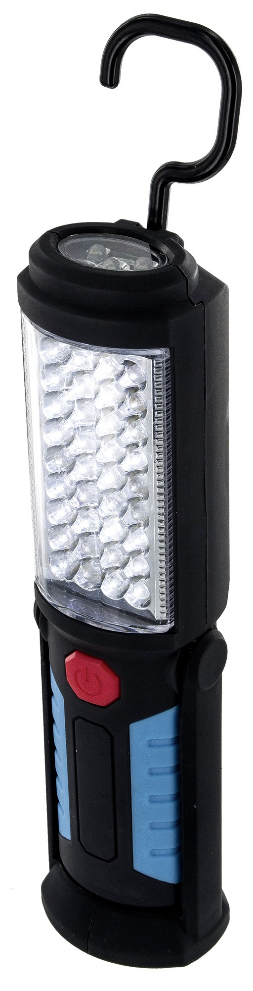 Work light with magnets a portable cordless battery operated 41 led work light can be