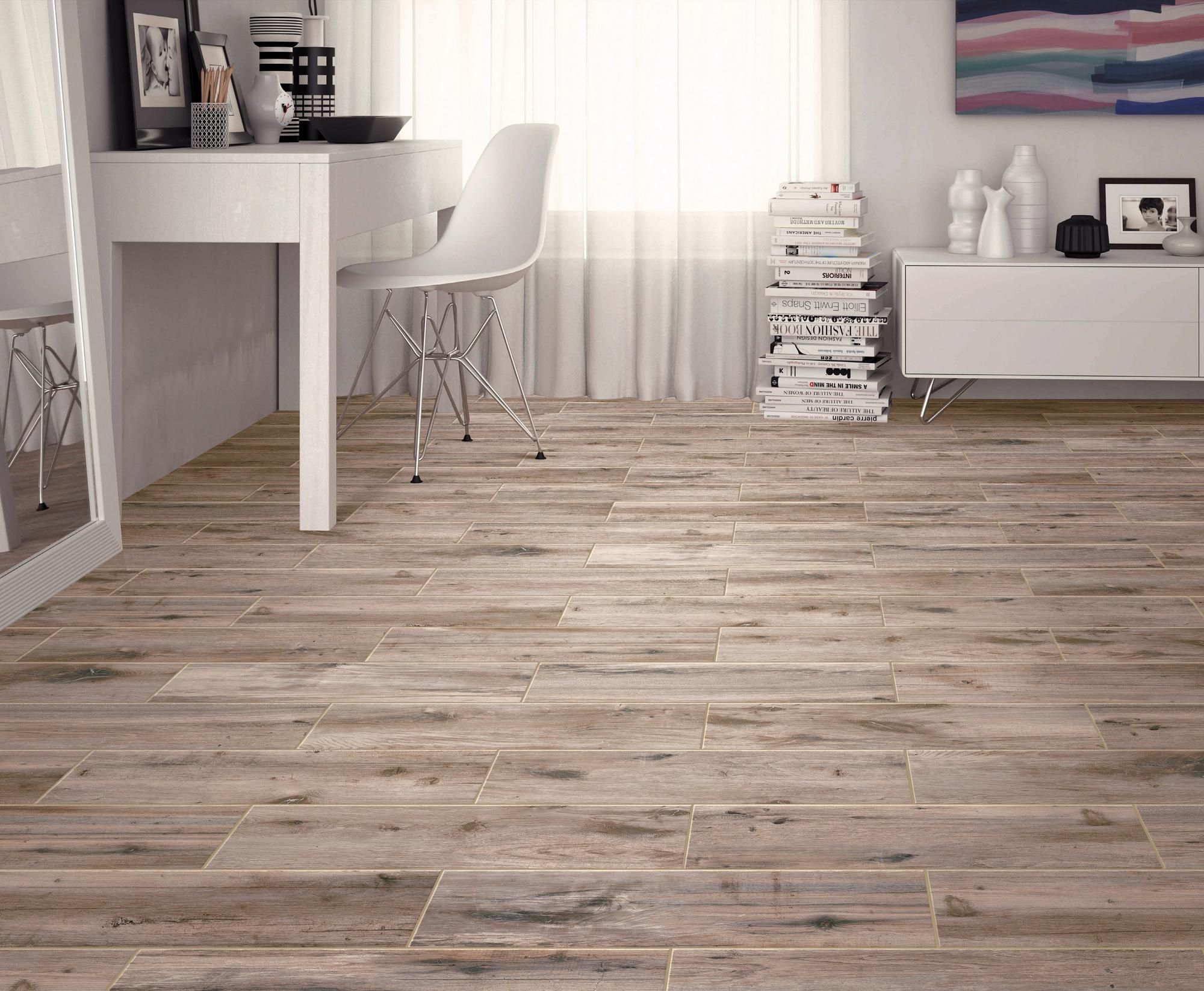 Mansfield Amber Wood Plank Porcelain Tile Floor Decor In 2020 Plank Tile Flooring Wood Floors Wide Plank House Flooring