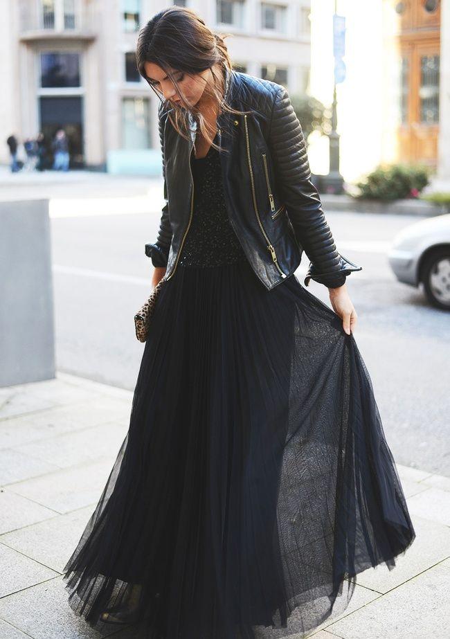 1a9f235b39a0ce 75 Fall Outfits to Try Now … | BlackIsTheNewBlack | Mode, Mode ...
