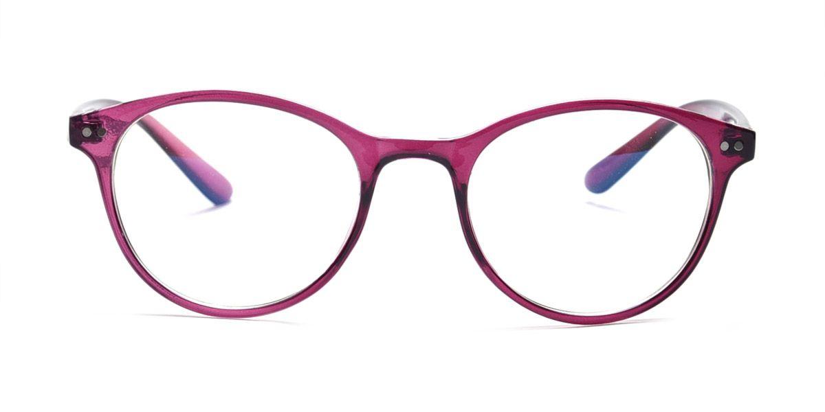 bcf44ee42d Graviate Purple Full Frame Round Eyeglasses for Women