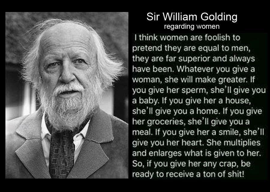 On william women golding Did Author