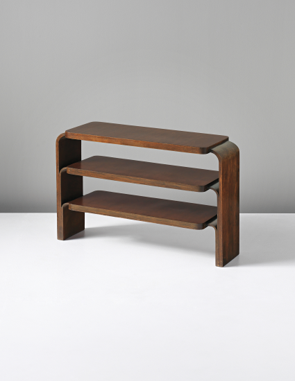 Alvar aalto shelf unit model no 111 con madera for Alvar aalto muebles