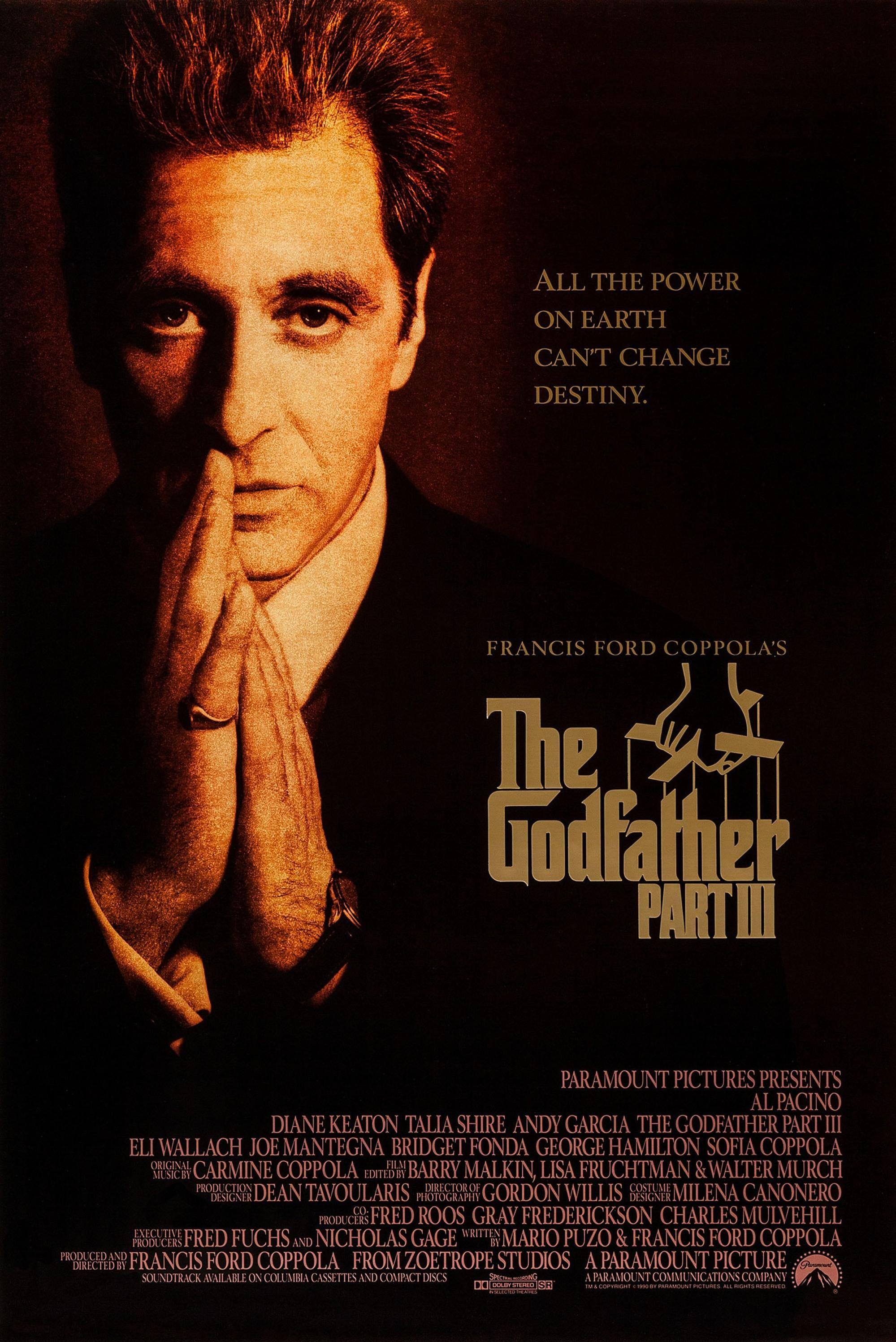 Baba 3 The Godfather 3 Filmini Izle Indirmeden Online Seyret