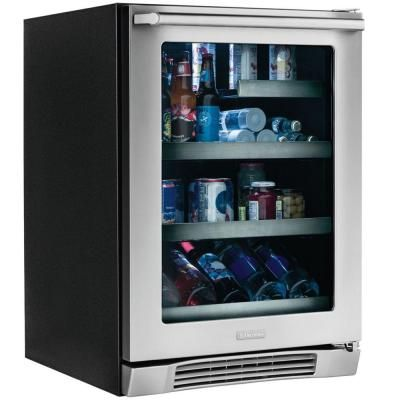Electrolux Iq Touch 24 In 44 Bottle Wine Cooler And 152 12 Oz Can Cooler Ei24bc10qs The Home Depot Beverage Center Beverage Refrigerator Wine Bottle