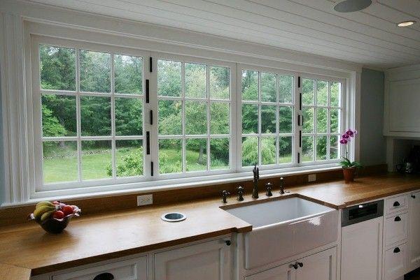 Large Kitchen Window Large Kitchen Kitchen Window Kitchen Design