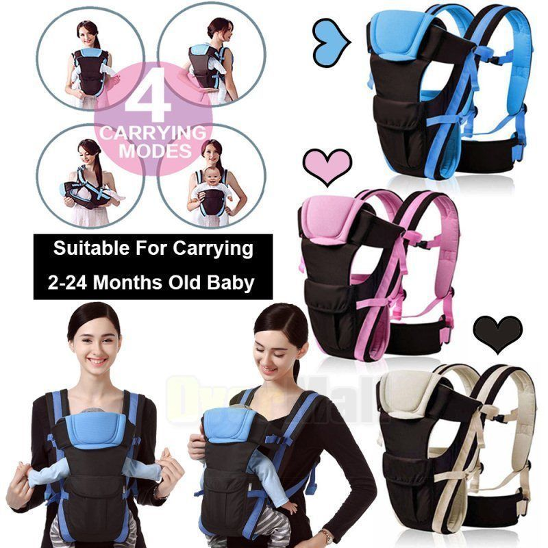 20.99 Newborn Baby Carrier Sling Wrap Backpack Front