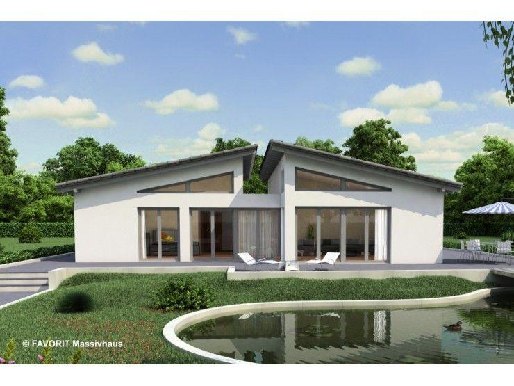 Haus bauen modern pultdach  Chalet 135 - #Einfamilienhaus von Bau Braune Inh. Sven Lehner ...