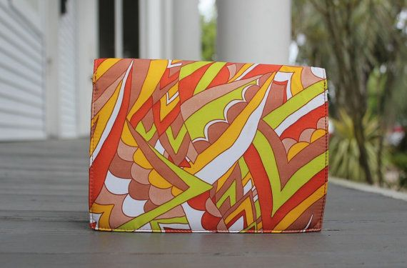 Mod Purse Retro Clutch 60s Hippie Handbag by PrimaDonnaBoutique, $22.00