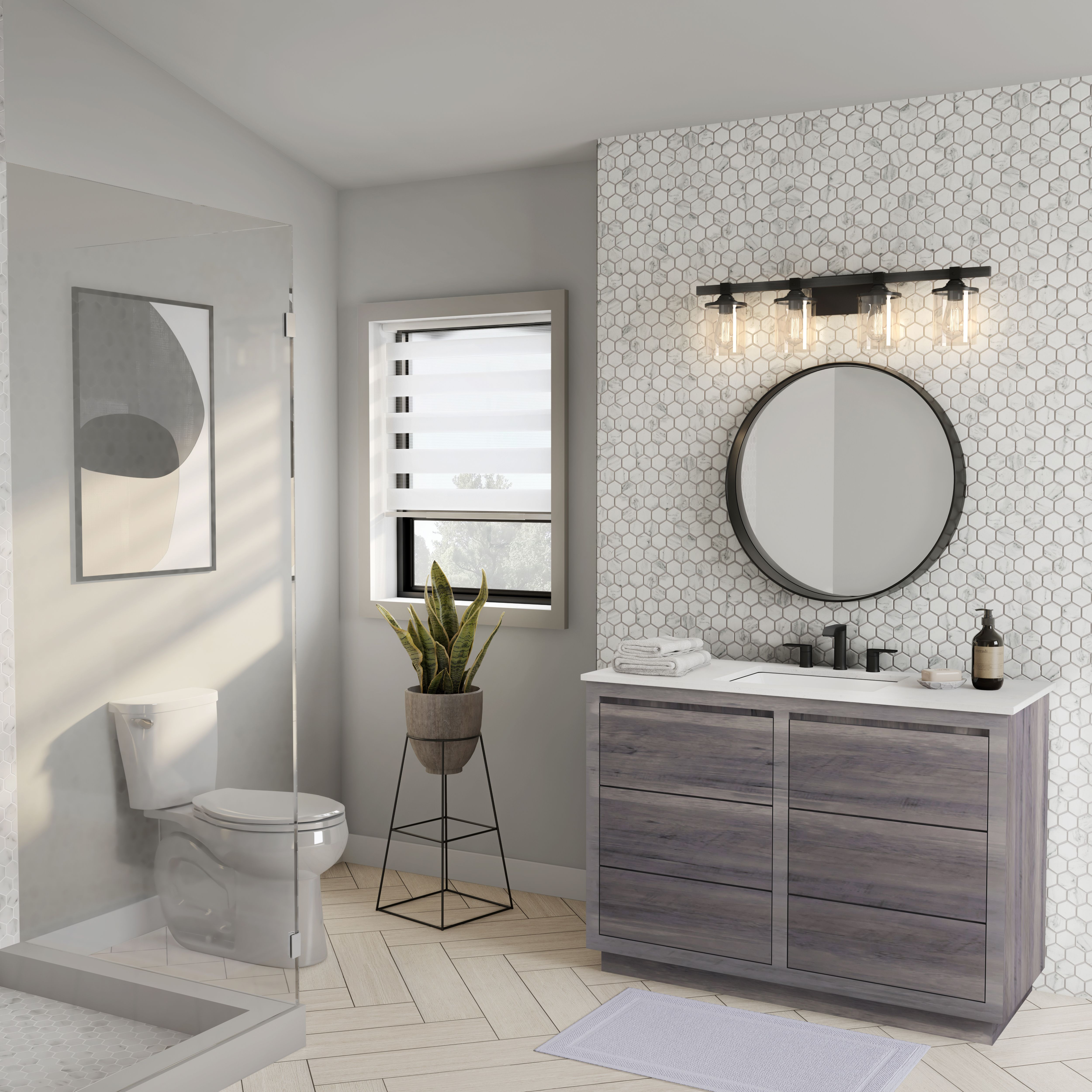 Whether you're looking for a modern bathroom vanity or ...
