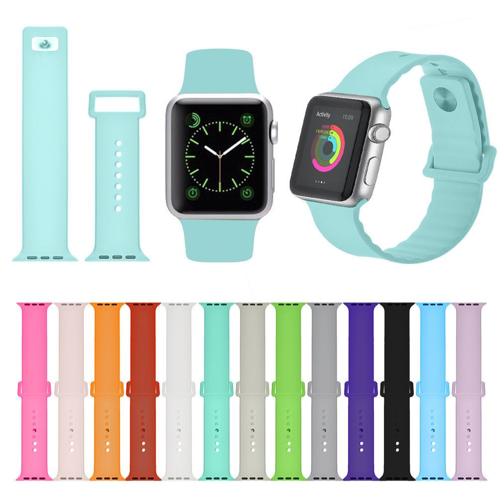 1 99 Improved Replacement Sport Silcone Strap Band For Apple Watch M L Series 1 2 3 Ebay Fashion Apple Watch