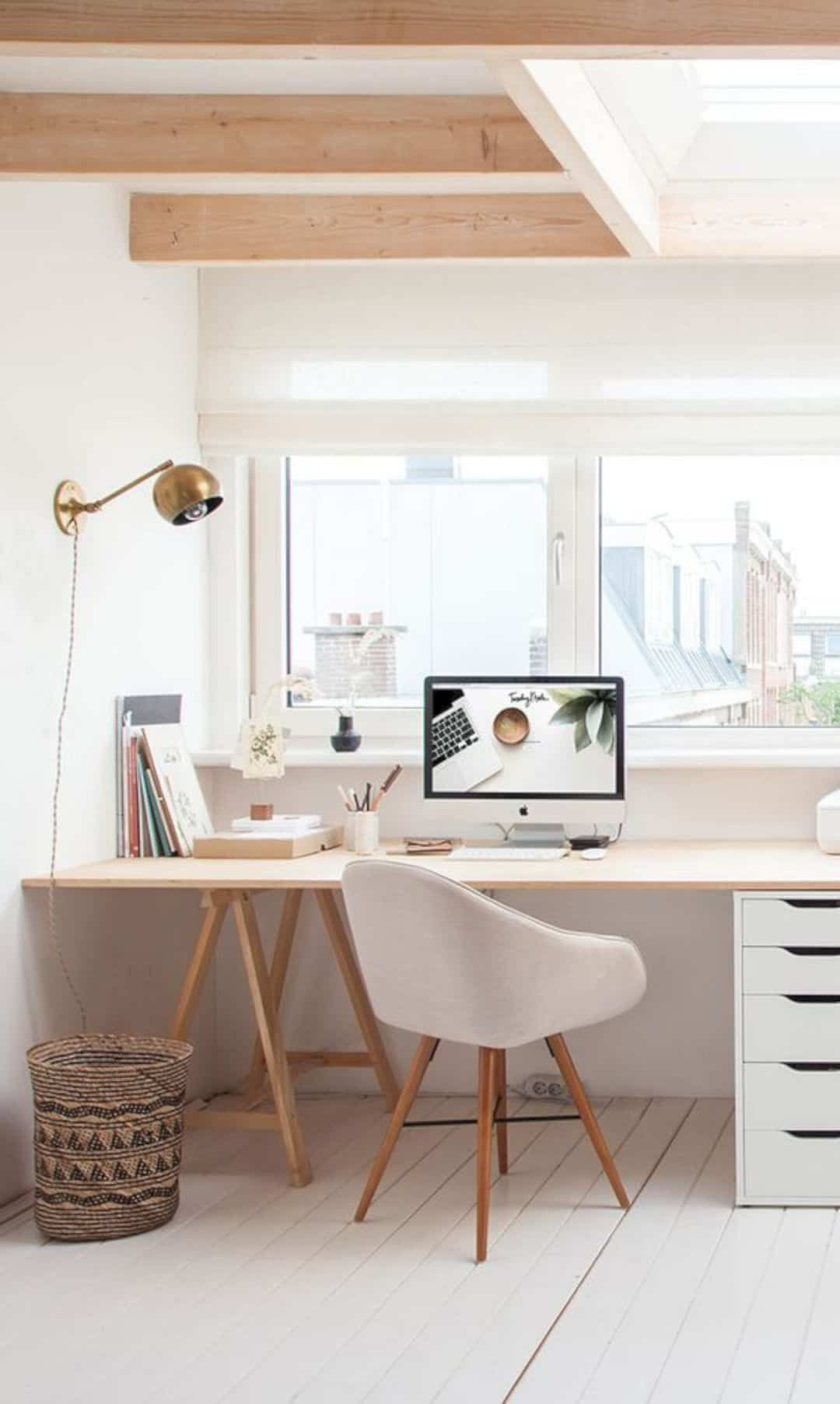 16 Beautiful Scandinavian Home Decoration Ideas Home Office Decor Home Office Design Minimalist Home