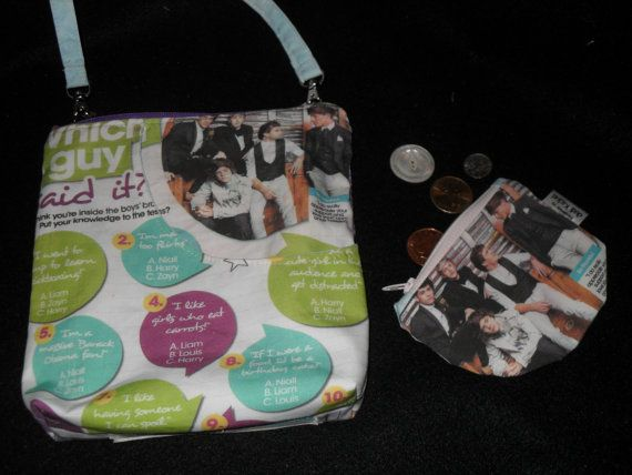 Full MoonOne Direction Magazine PagesLight Blue with by mibolsa, $40.00
