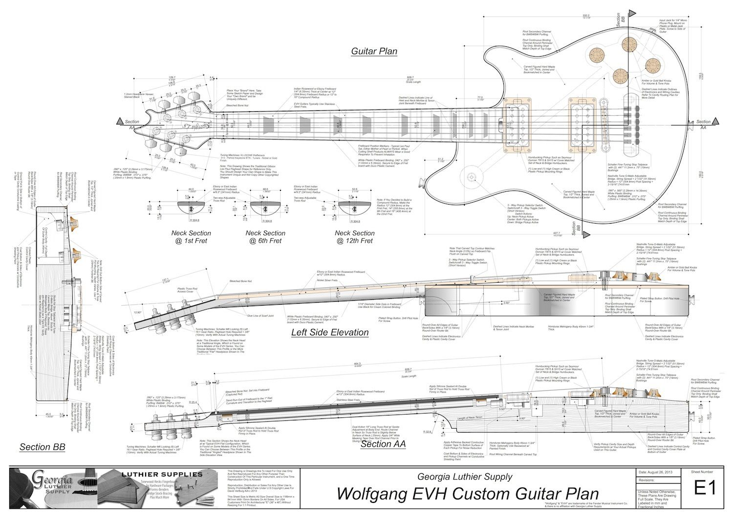 Acoustic E Guitar Free Download Wiring Schematics Library Schematic
