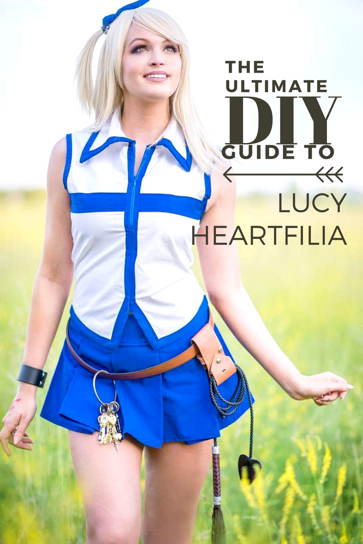 The Ultimate Diy Guide To Lucy Heartfilia Anime Impulse Lucy Heartfilia Fairy Tail Cosplay Fairy Tail Costumes