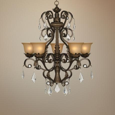 Kathy Ireland Ramas De Luces Bronze 31 Wide Chandelier P0311 Lamps Plus In 2020 Chandelier Traditional Chandelier Classic Chandeliers