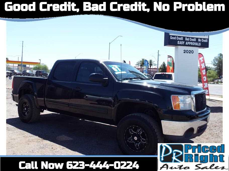 2007 Gmc Sierra 1500 Crew Cab From Priced Right Auto Sales Cars For Sale Gmc Sierra 1500 Crew Cab