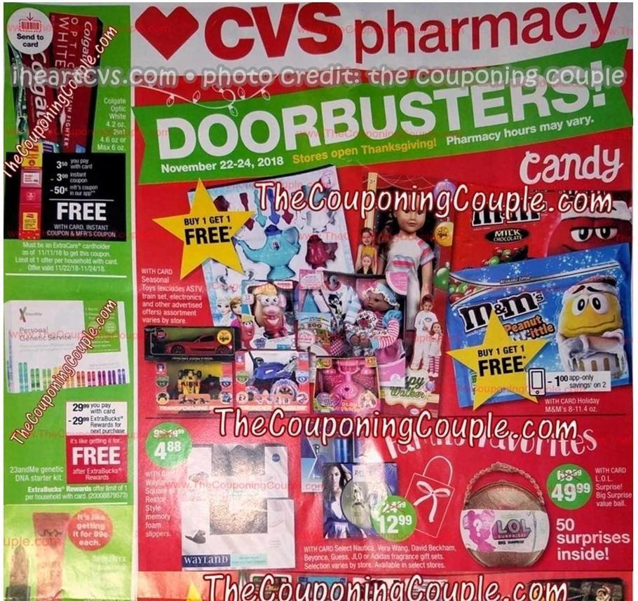 Cvs S Black Friday 2018 Adscan Page 1 Black Friday Ads Free Candy Black Friday