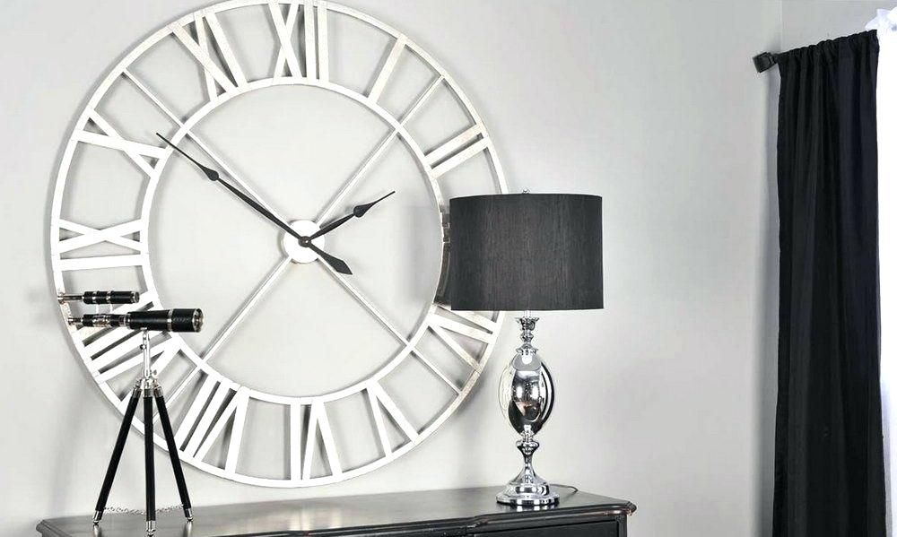Large Modern Wall Clocks In 2020 Contemporary Wall Clock Large Contemporary Wall Clock Oversized Wall Clock Decor