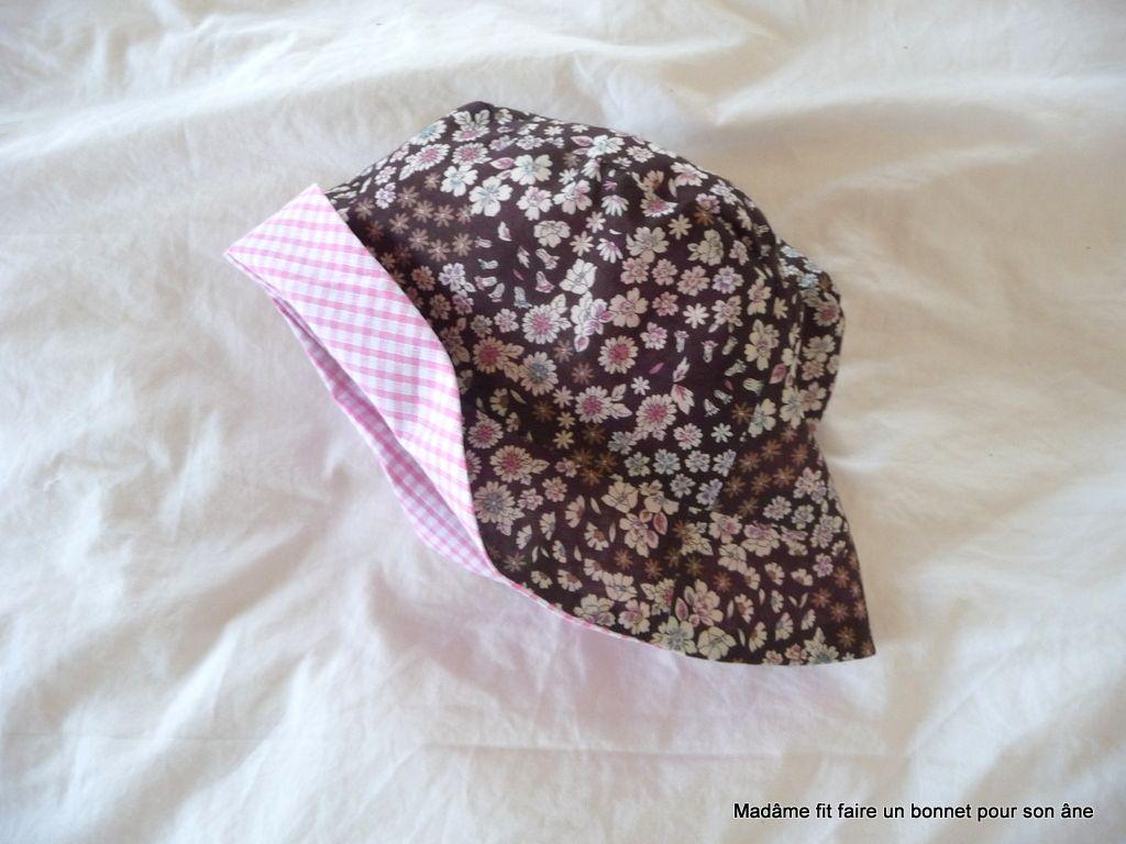 code promo af181 387ae Tuto et patron pour le chapeau cloche ou le bob | Chapeau ...