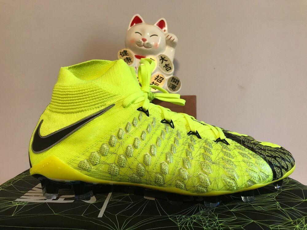 10ba6266a6e eBay  Sponsored Nike x EA Sports HyperVenom Phantom 3 DF SE FG Soccer  Cleats New 9  882008-700
