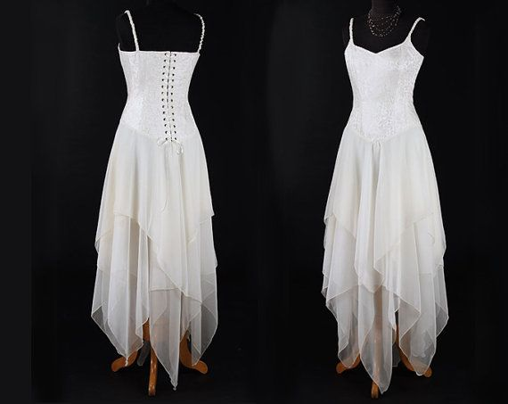 This Exquisite Fairytale Dress Features A Corset Style Bodice That Is Made In Beautiful Pale Ivory Brocade The Fully Boned To