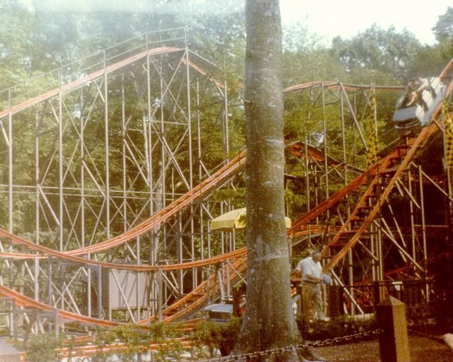Glissade was a roller coaster at Busch Gardens Williamsburg in
