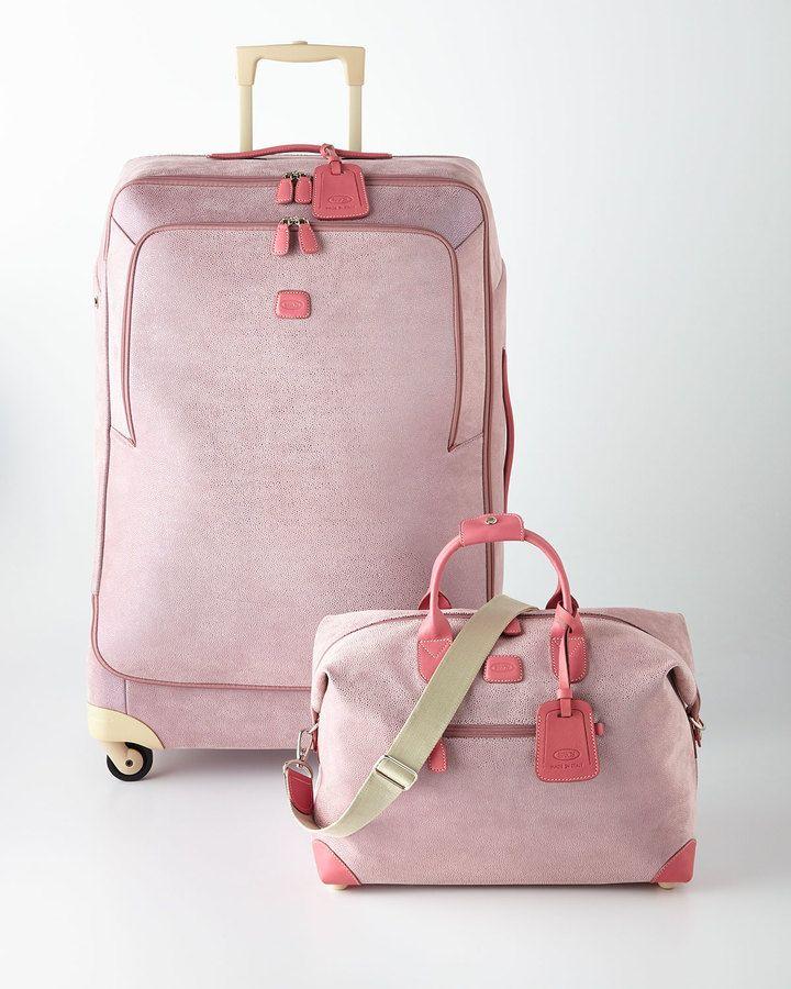 BRICS Life Pearl Pink Luggage | pepto pink | Pinterest | Pink ...