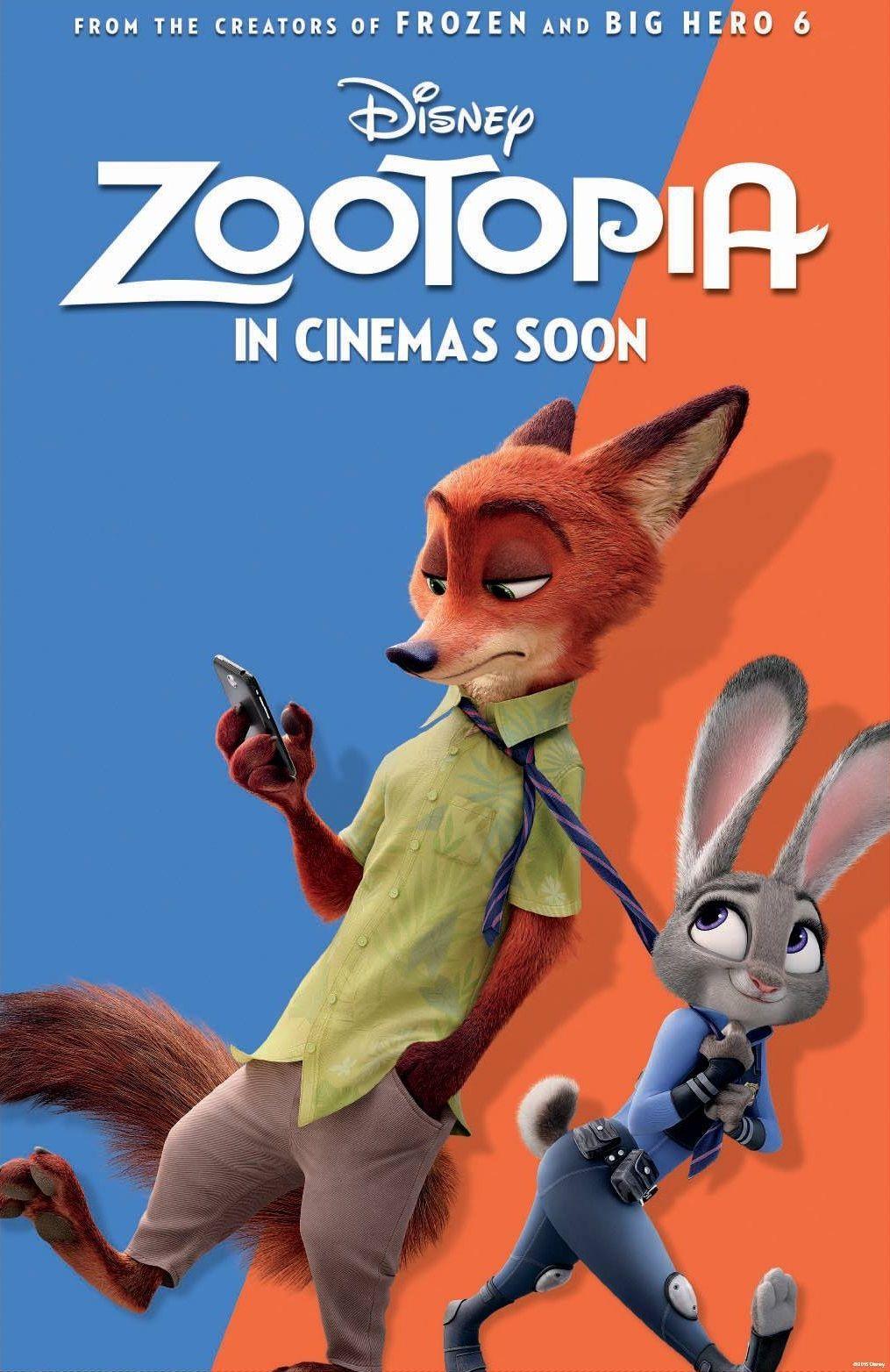 Zootropolis Poster Movie 2016 Zootopia Walt Disney CHOOSE YOUR SIZE FREE P+P