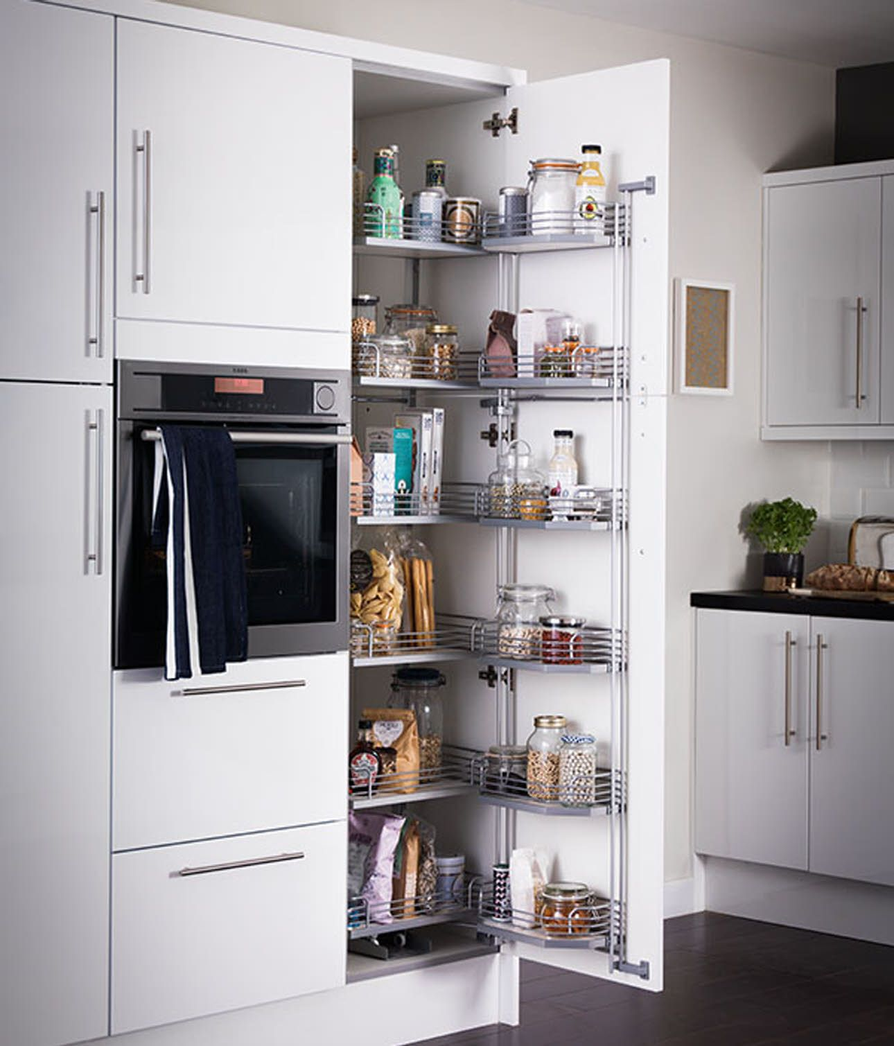 Eckhochschrank Dispenser Larder Springhill Kitchen Kitchen Design Innovation
