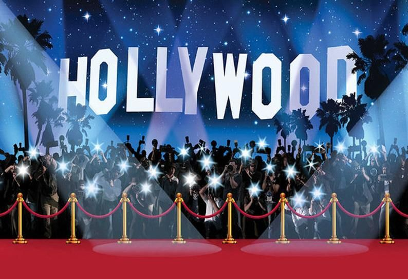 Hollywood Backdrop Party Photography Oscars Party Banner Red Carpet 5ft X 7ft Printed Backdrops For Parties Photography Backdrops Party Photography