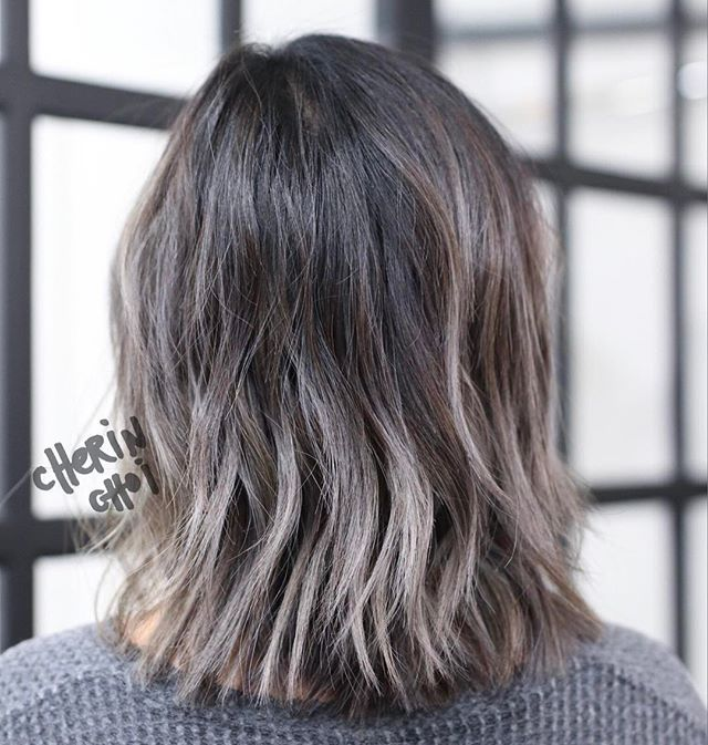 Color correction for @sereinwu from an grown out warm and ...