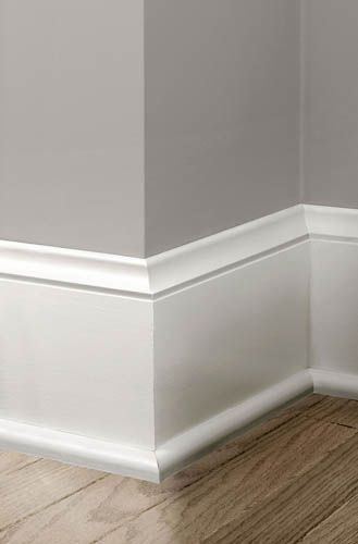 Colonial Revival Baseboard Moulding House Bling