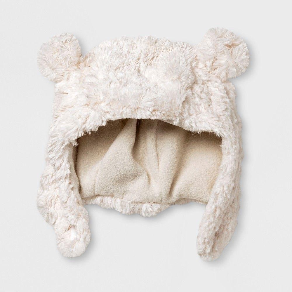 462db8d12a9 Baby Boys  Polar Bear Trapper Hat - Cat   Jack White 0-6 M