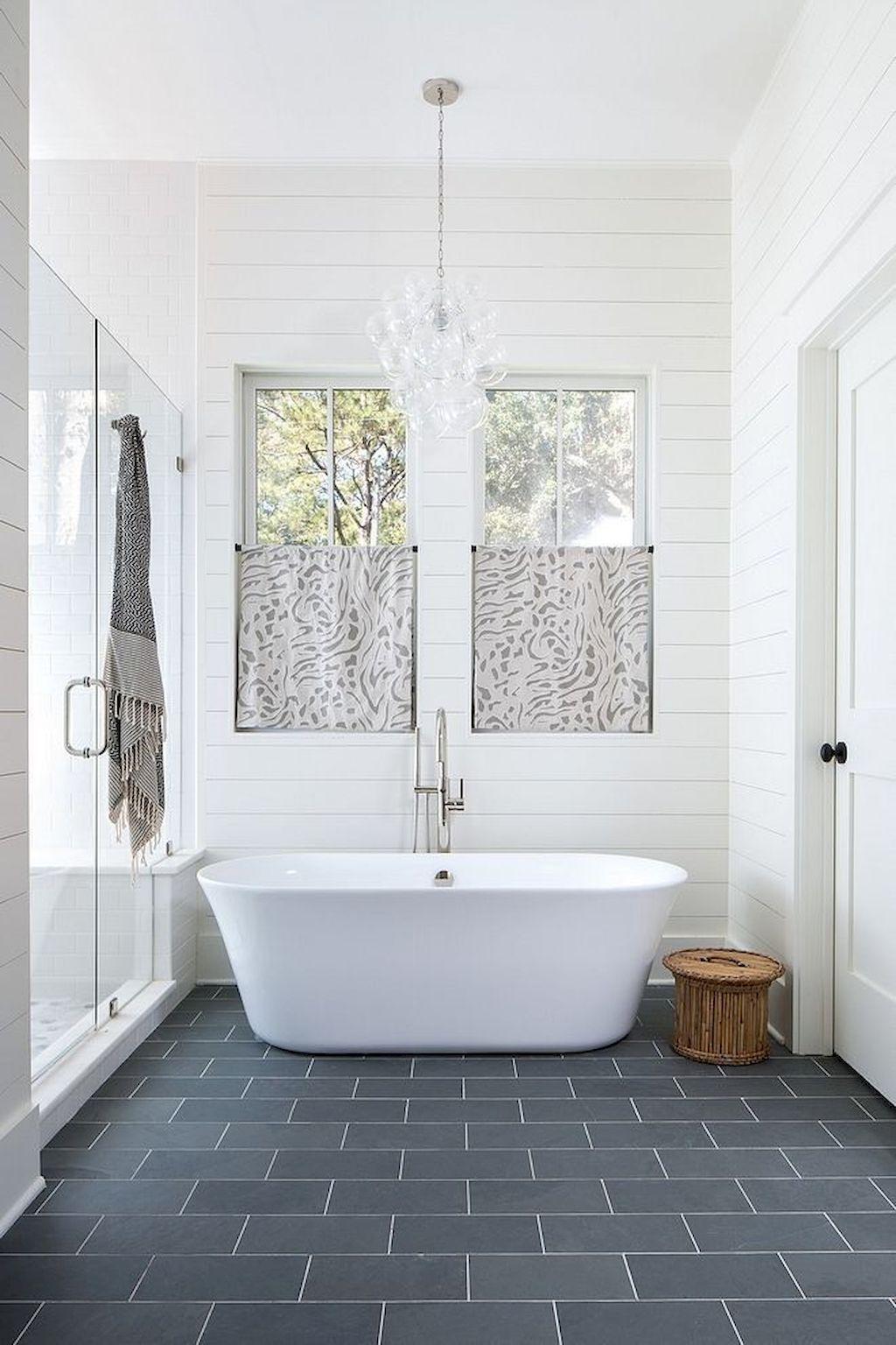 33 White Bathroom Color Decorating Ideas White Bathroom