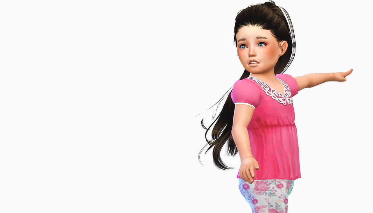 Anto paraguay toddler version simfileshare sims cc