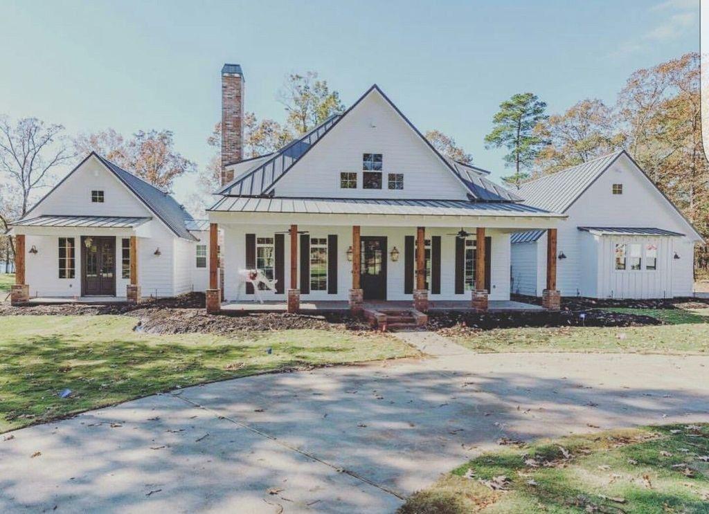 37+ All white farmhouse ideas