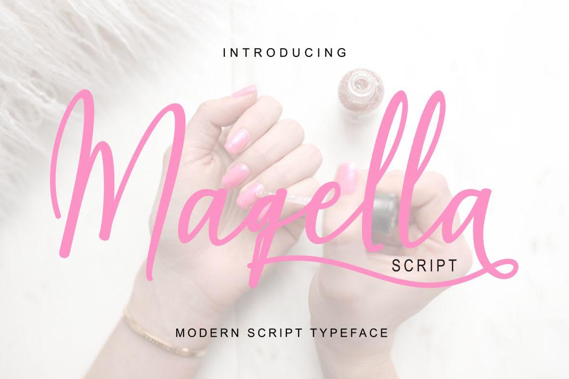Musetta Display Typeface