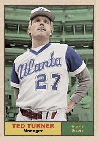 new arrival 440bb 19324 Ted Turner - Atlanta Braves owner and manager | Braves ...
