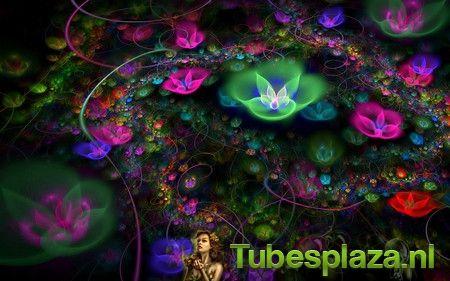 Neon Flower 4 - Neon Flower - Galerij - Tubesplaza.nl