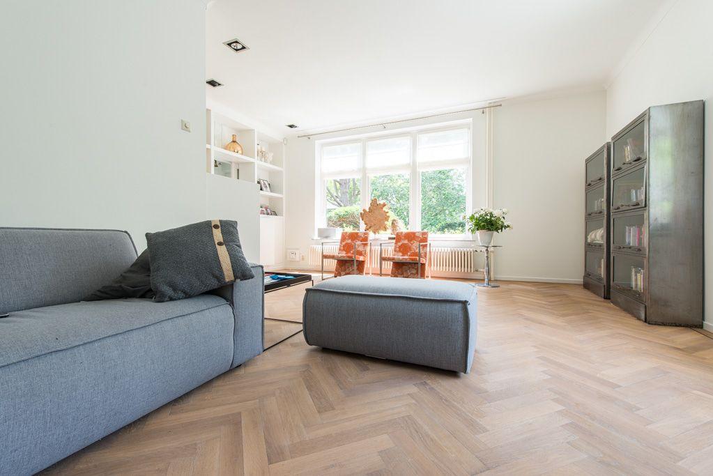 Eiken visgraat vloer naturola geolied zeist living room