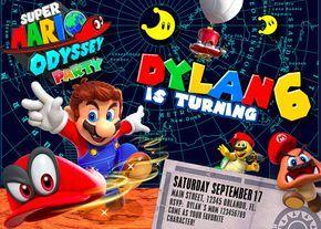 Pictures Of Super Mario Odyssey