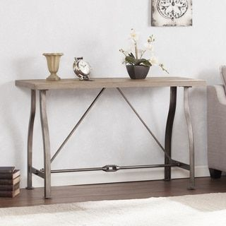 Harper Blvd Juniper Industrial Console Table Overstock.com