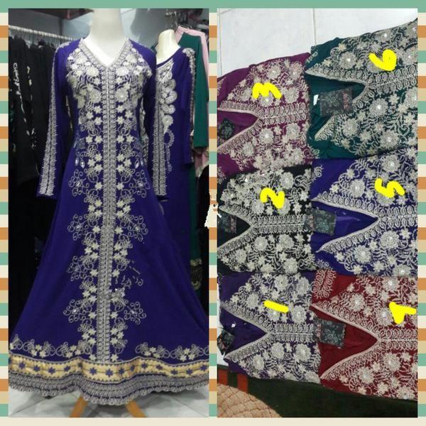 Jual baju maxi dress