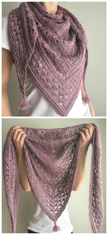 Lace Shawl Crochet Free Pattern - Crochet & Knitting
