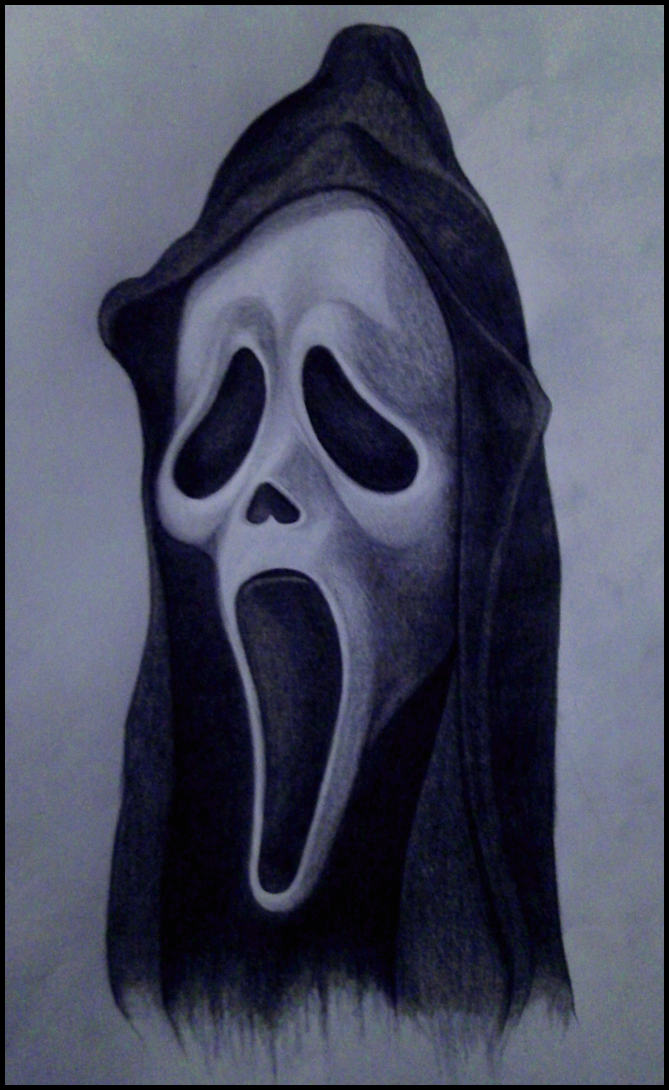 Scream Mask Drawing Horror Drawing Horror Movie Icons Movie Tattoos