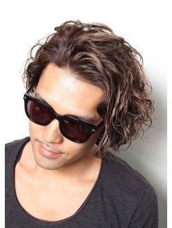 2021年冬 メンズ ミディアムの髪型 ヘアアレンジ 人気順 2ページ目 ホットペッパービューティー ヘアスタイル ヘアカタログ メンズ パーマ ヘアカット 髪型 メンズ パーマ